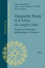 Book cover of Marguerite Porete et le Miroir des simples ames by Robert Lerner