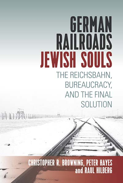 cover of German Trains, Jewish Souls